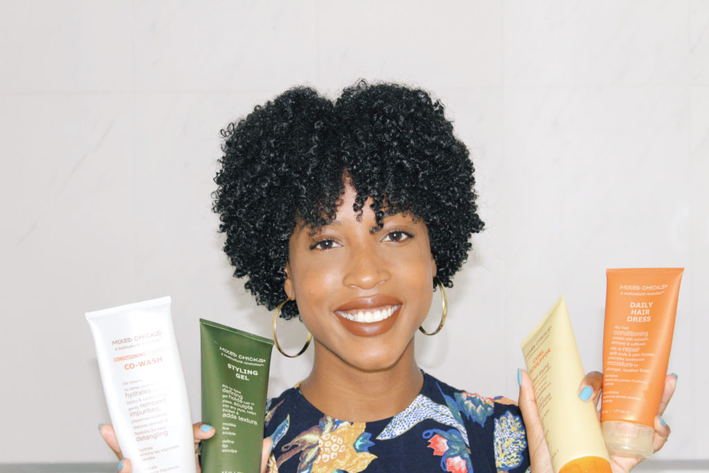 wash and go, mixed chicks