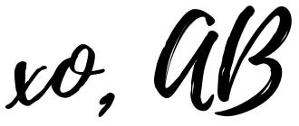 Aisha Beau Post Signature